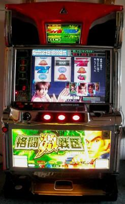 King Of Violence pachislo machine with large LCD display [Christmas Gift Idea]
