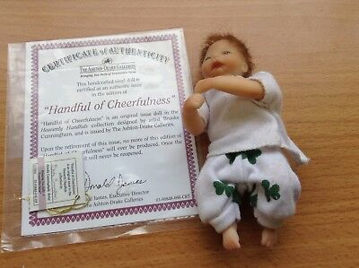 The Ashton Drake Galleries - Handful Of Cheerfulness - Collectors Doll's COA