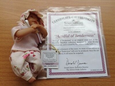 The Ashton Drake Galleries - Handful Of Tenderness - Collectors Doll's COA