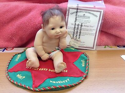 The Ashton Drake Galleries - It's Not Easy Being Nice - Collectors Doll's COA