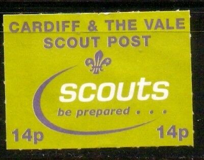 Cardiff, UK, local Scouts Post. In Great Britain many Scout groups issues own lo
