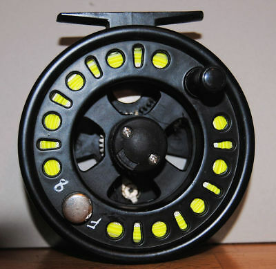 Intrepid 7/8 Fly Fishing Reel with Line Leader and Tippet (2)