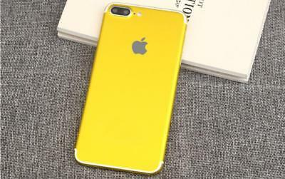 Gold mobile phone stickers mobile phone shell body film for iPhone 7 7s diy  1