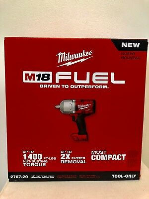 "Milwaukee 2767-20 M18 FUEL 1/2"" High Torque Impact Wrench with Friction Ring"