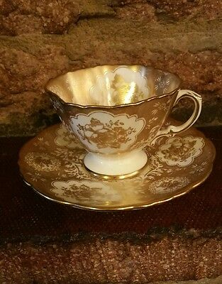 Vintage Hammersley & Co Longton Bone China Cup & Saucer