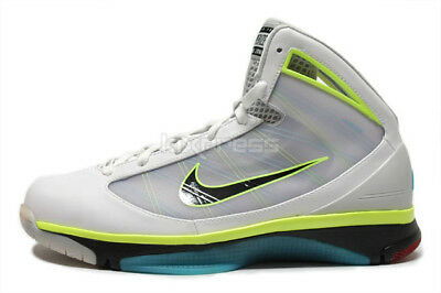2c72d34dd9139 2009 Nike Hyperize SZ 13 White Men Cant Jump Billy Hoyle Volt Kobe  367173-101