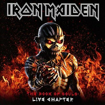 Iron Maiden - The Book Of Souls Live Chapter [CD] Sent Sameday*