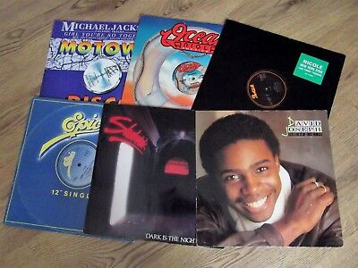 """Job Lot 6 Records   - 12""""   80S Grooves - Soul / Funk   - Nice Collection! - Ex"""