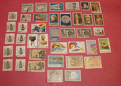 40 cyprus stamps