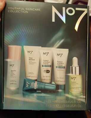 No7 Youthful Skincare collection gift set - NEW