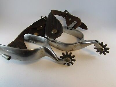 Great Old Antique VINTAGE Western Cowboy Spurs NR