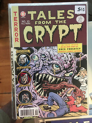 TALES FROM THE CRYPT #10 NM 1st Print Papercutz comic Crypt Keeper