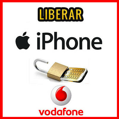 Iphone Vodafone España/spain-Liberar//unlock-Iphone 4,5,5S,6,6S,7
