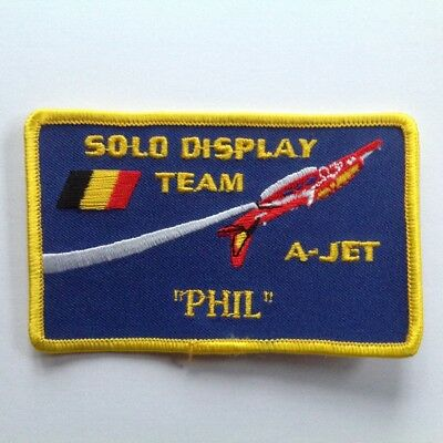 Force Aérienne Belge - Alpha Jet Solo Display - Name tag