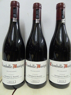 1 x 0,75 Liter 2014 Chambolle Musigny Domaine G.Roumier