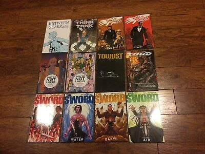 Graphic Novel Lot Of 20 Comics Image Robert Kirkman Spawn #4