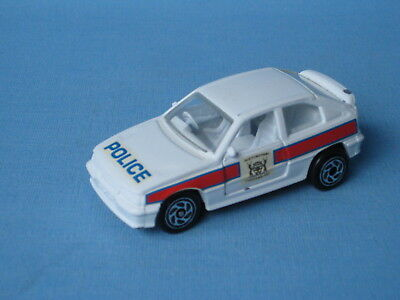 Matchbox Astra Police Car with Decals Trial Pre-pro Pre-production RARE