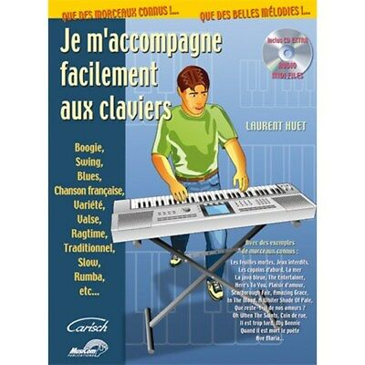 Je M'accompagne Facilement aux Claviers Keyboard Buch, CD