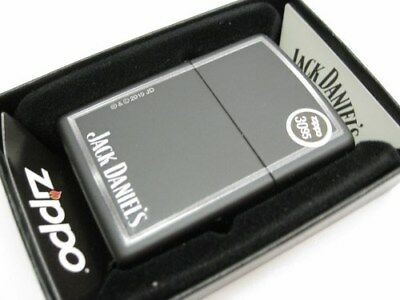 Zippo Full Size Black Matte Finish Jack Daniel's Windproof Lighter 28820