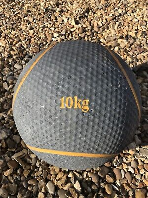 Rubber Medicine Ball 10kg Great Bounce Solid Ball