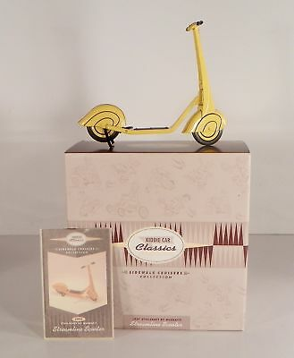 Hallmark Kiddie Car Classics 1937 Steelcraft Streamline Scooter Sidewalk Cruiser