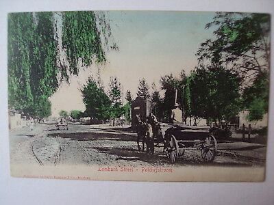 Potchefstroom - Lombard Street - 1913.
