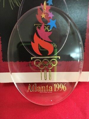 Christmas Hallmark The Olympic Spirit Atlanta 1996 Ornament In Box