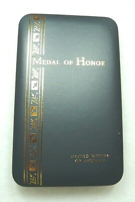 Department of Defense Medal of Honor presentation case, without pad, EMPTY