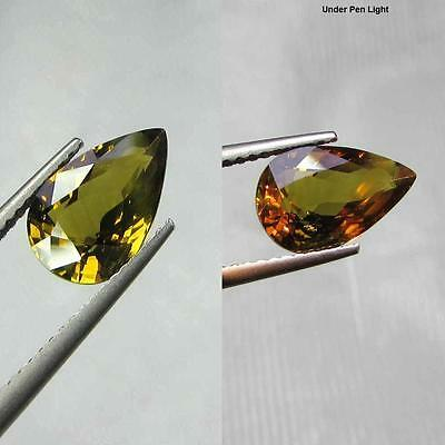 IGI CERTIFIED RARE 2.93Ct NATURAL COLOR CHANGE ALEXANDRITE~SEE VIDEO