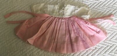 "Vintage Madame Alexander 15"" PUDDIN replacement DOLL DRESS"