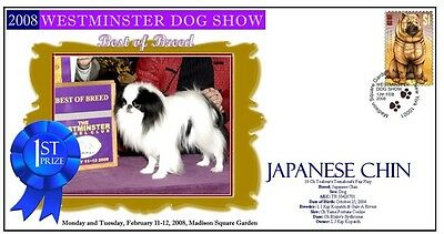WM 2008 DOG SHOW BEST of BREED COVER, JAPANESE CHIN