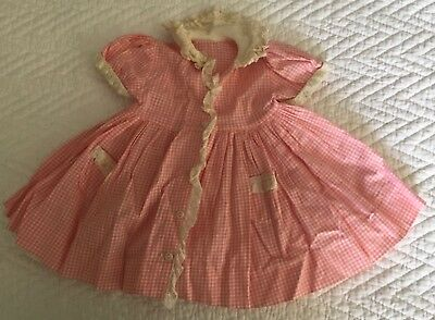 Vintage Madame Alexander KELLY replacement DOLL DRESS