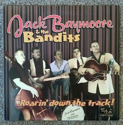 "Jack Baymoore & The Bandits - Roarin' Down The Track 10"" LP - Tail Rockabilly"