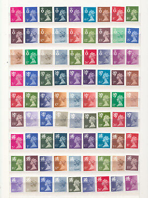 GB Scotland, N Ireland and Wales Decimal MNH unmounted mint collection regionals