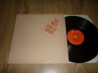 THE WHO - Live at Leeds - UK Re-Issue LP - POLYDOR