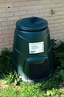 COLLECTION ONLY Plastic Compost Converter 220L Composting Bin Garden Recycling