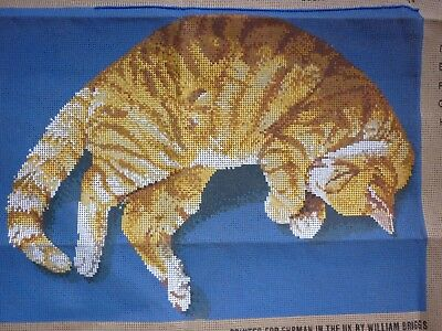 New Ehrman Marmalade The Cat Tapestry Canvas