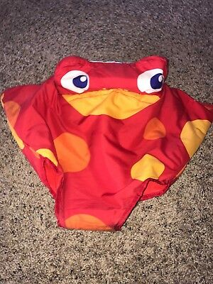 Fisher Price Rainforest Jumperoo Replacement Part Red Frog Seat Cover Pad