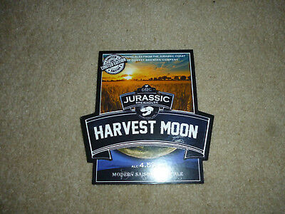 pump clip front.DBC. brewery..Harvest Moon...Limited edition..