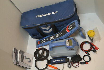 Radiodetection Rd8100 Pdl Tx10 Rechargeable  40+ Freq Gps Bluetooth  60 Day Warr