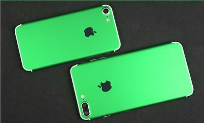 green mobile phone stickers mobile phone shell body film for iPhone 6 6s diy