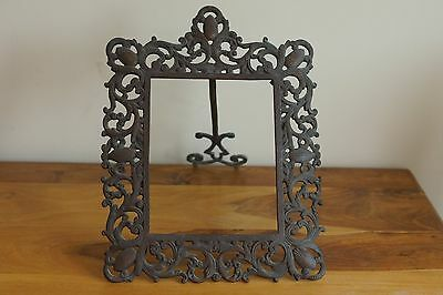 Large Antique Colonial Picture Frame Bought In The Caribbean.