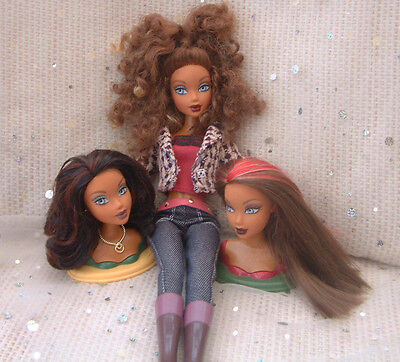 Barbie MY SCENE ethnic SWAPPIN STYLES - 3 changeable heads Westley Madison