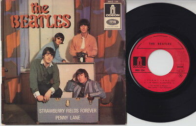 The BEATLES * Penny Lane * 1967 French EP *