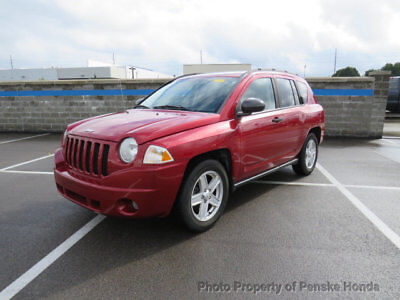 2007 Jeep Compass 4WD 4dr Sport 4WD 4dr Sport SUV Manual Gasoline 4 Cyl RED