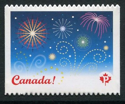 "Weeda Canada 2259i VF NH Die cut ""Celebrations"" single, from Annual Collection"