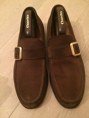 Church Brown Suede Caldbeck Shoes  Size 9 F