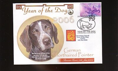 German Shorthaired Pointer 2006 Year Of The Dog Cover