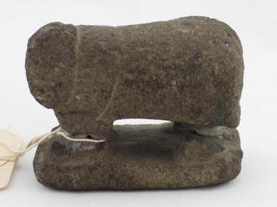 NobleSpirit 3970 Bronze Age Ethiopian Stone Sculpture of a Lion 2,000 B.C.