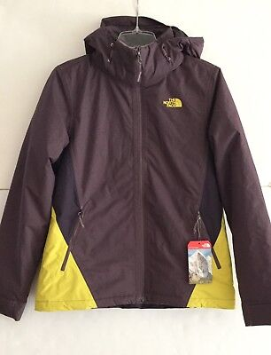 083290fb7bb43 The North Face Women s Medium Insulated Agave Triclimate Jacket Black Plum  2017